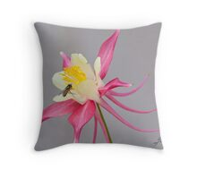 Floral Wisps Throw Pillow