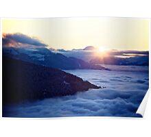 Sunset Inversion Poster