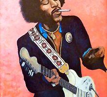 Jimi Hendrix - You Got Me Floating by Tom Roderick