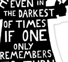 Harry Potter Dumbledore quote Sticker