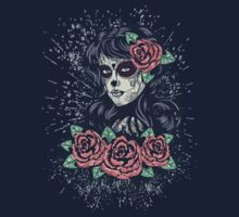 Day of Dead Girl 2 Kids Tee