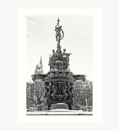 Ross Fountain Art Print
