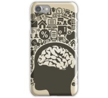 Business a head2 iPhone Case/Skin