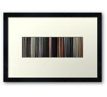 Moviebarcode: Æon Flux (2005) Framed Print