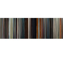 Moviebarcode: Æon Flux (2005) Photographic Print