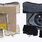 "IDées blanches : Double-face n°11 - Recyclage ""Oeil pour Oeil"" by Pascale Baud"