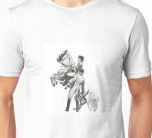 Stippling artwork-Lipizzaner Unisex T-Shirt