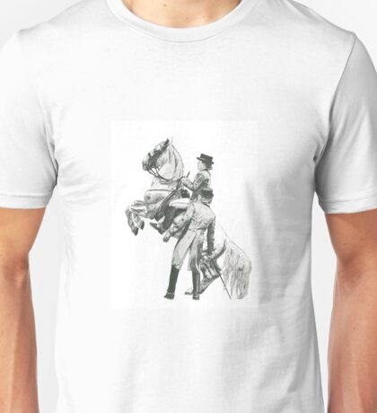 Stippling artwork-Lipizzaner Unisex T-Shirt