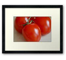 Tomatoes... Framed Print