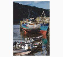 Boats at Abergwaun, Fishguard, Pembrokeshire Kids Clothes