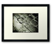 Too Shallow! Framed Print