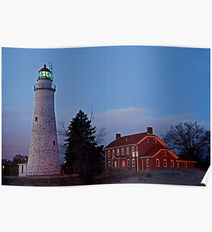 Fort Gratiot Lighthouse Poster