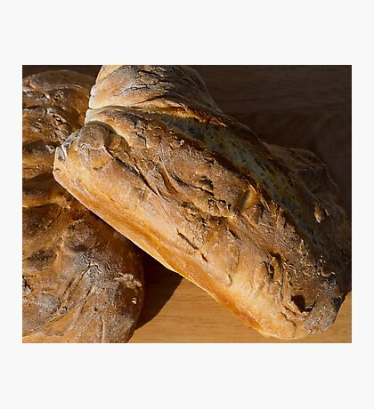 Two Loaves of Bread Photographic Print