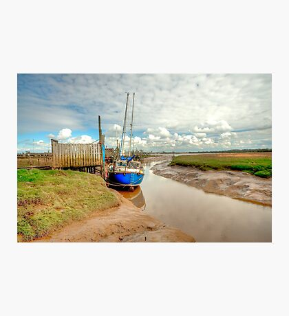 Skippool Creek Berth - HDR Photographic Print