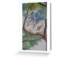 Harley Boodle Fairy Whippy woo Greeting Card