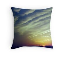 Bronx Sunset Throw Pillow
