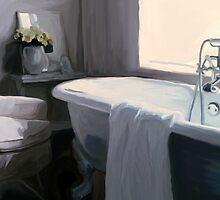 """""""Tub in Grey"""" by Patti Siehien"""