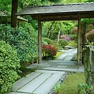 Invitation to a Japanese Garden by Marjorie Wallace