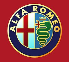 Alfa Romeo - Classic Car Logos by brookestead
