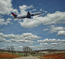 Delta Airlines by barnsis