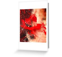 Red Gloves Greeting Card