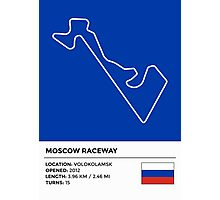 Moscow Raceway - v2 Photographic Print
