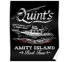 Quint's Boat Tours Poster