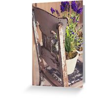 Shabby Chic-ness. Greeting Card