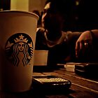 Coffee and Technology addiction by Michael  Habal