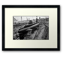 HMSM Ocelot: Royal Navy Submarine  Framed Print