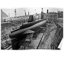 HMSM Ocelot: Royal Navy Submarine  Poster
