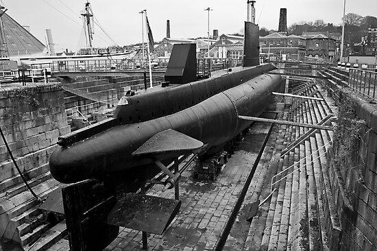 HMSM Ocelot: Royal Navy Submarine  by DonDavisUK