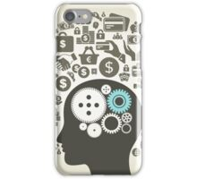 Business a head9 iPhone Case/Skin
