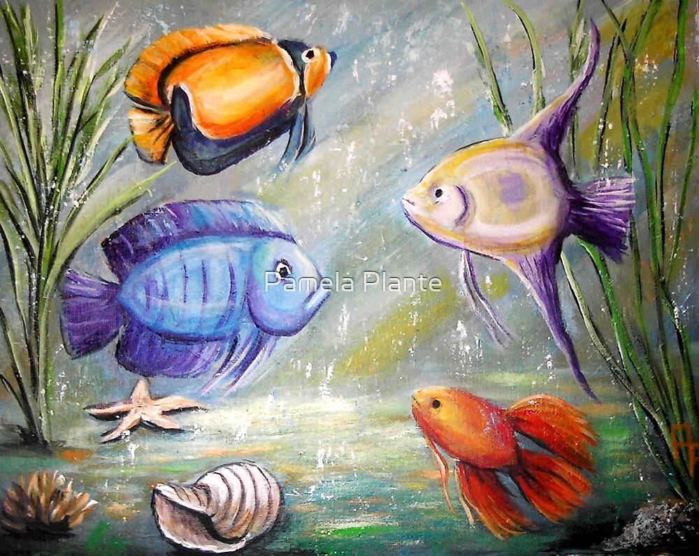 Fish Tank by Pamela Plante
