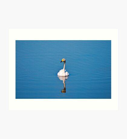 Alone - Cambridgeshire Art Print