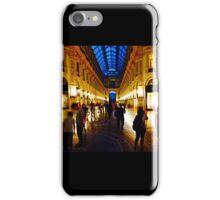 360° Galleria Vittorio Emanuele shopping Center - Milan, Italy iPhone Case/Skin
