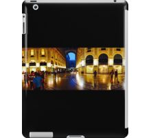360° Galleria Vittorio Emanuele shopping Center - Milan, Italy iPad Case/Skin