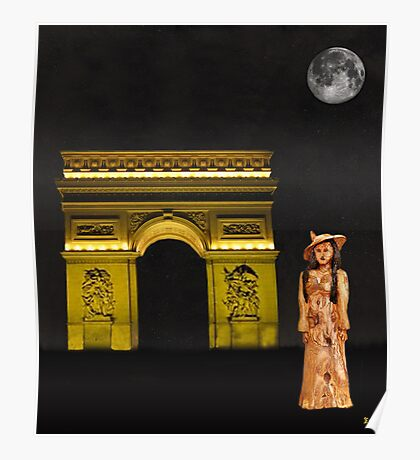 Paris fasion Poster
