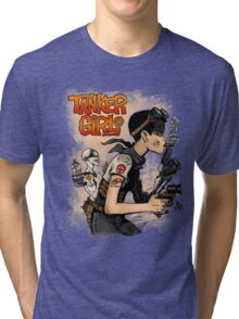 Tanker Girl Tri-blend T-Shirt
