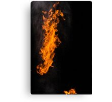 Fire Photography is the BEST! Canvas Print