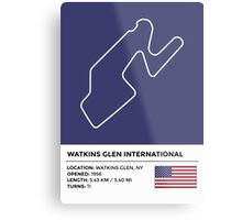 Watkins Glen International - v2 Metal Print