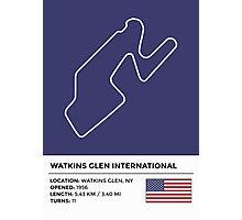 Watkins Glen International - v2 Photographic Print