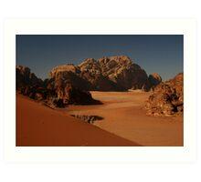 Wadi-Rum Art Print