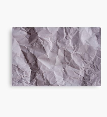 The Paper Canvas Print