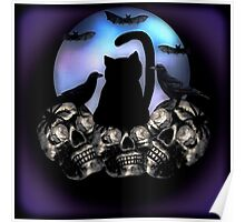 Cats Bats and Ravens Oh My Poster