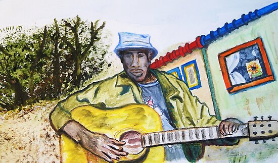 South African Guitarist by JRobinWhitley