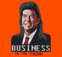 Business in the Front Kids Tee