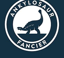 Ankylosaur Fancier Print by David Orr