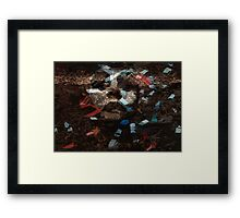 Elementary  particles - Mother Earth Framed Print
