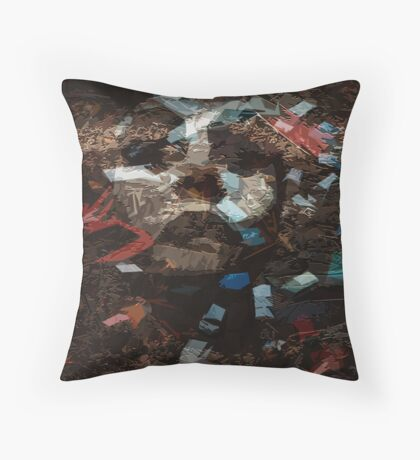 Elementary  particles - Mother Earth Throw Pillow